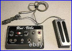 Shin-Ei Uni-Vibe Vintage UniVibe Pedal With Foot Controller 68 69 70s