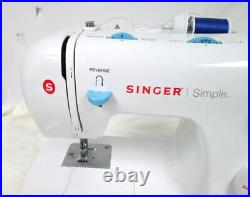 Singer 2263 Simple Mechanical Sewing Machine Pedal Foot Control Tested & Working