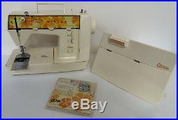 Singer Genie 353 Sewing Machine w dust cover foot pedal instruction manual +++