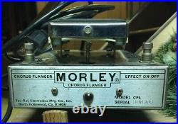 Tel-Ray Morley Chorus/Flanger Pedal Effect Vintage Used Excellent Foot Control