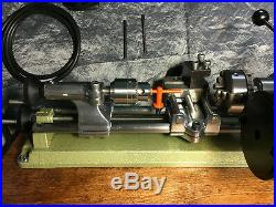 Unimat SL lathe vari speed with foot speed control pedal watchmakers option