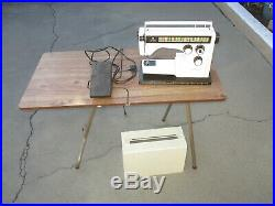 Viking Husqvarna 6570 Sewing Machine with Foot Control Pedal & Table NO SHIP