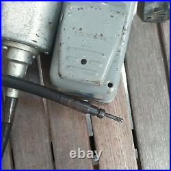 Vintage Foredom Electric Checkering Tool Foot Pedal Control Gun Smithing Wood