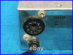 Vintage Leslie Combo Preamp ll Foot pedal / Controller Tested & Working